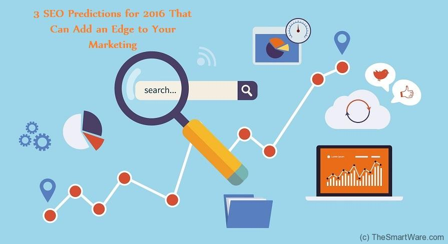 3 SEO Predictions for 2016 that can Add an Edge to your Marketing